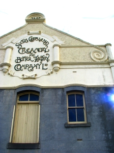Butter Factory At Yarram Victoria